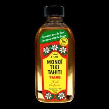 MONOI TIKI TAHITI AVEC FLEUR 120 ML MONOÏ ORIGINAL HUILE PARFUMÉE FLEUR DE TIARE