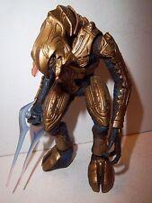 RARE!! Halo 3 Series 2 **GOLD ARBITER** Figure 100% Complete w/ Energy Sword!!!