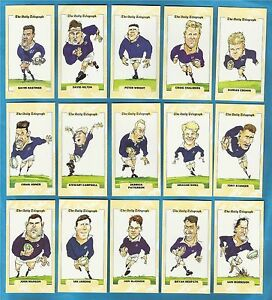 Cigarette/trade Cards - RUGBY WORLD CUP SCOTLAND 1995 - Full mint condition set