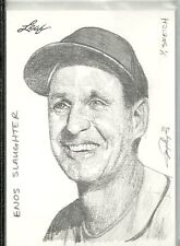 2012 Leaf - ENOS SLAUGHTER - 1 of 1 Sketch Card by Jay Pangan - CARDINALS