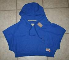 NWT Hollister Women Junior Large Hooded Crop Sweatshirt