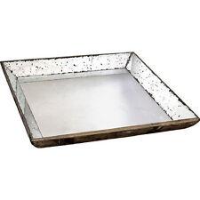 "Mirrored Glass Tray 24""x24"" - 30348"