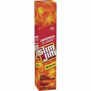 24X Slim Jim Giant Smoked Meat Stick, Original Flavor, .97 Oz.