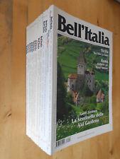 18 x Bell´ Italia Reise und Kulturmagazin Hefte Italienisch