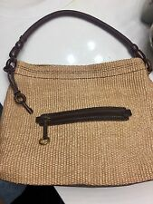 Fossil Large Handbag Tweed Purse