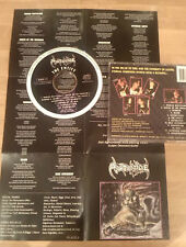 SORORICIDE The Entity CD 1991 Demigod Purtenance Bolt Thrower Death Metal