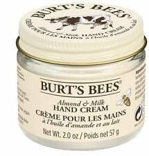 Burt's Bees Almond and Milk Beeswax Hand Cream 100% Natural