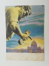 Cartolina Fiera di Milano 28° RAI Erberto Carboni