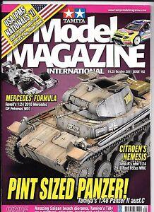 Tamiya Model Magazine Issue 192, OCT 2011 VF, tamiya Panzer II 1/48 Article