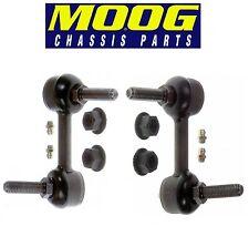 NEW Chevrolet GMC Isuzu Oldsmobile Pair Set of 2 Front Sway Bar End Links MOOG