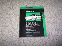 1989 Toyota MR2 Factory Shop Service Repair Manual Supercharged