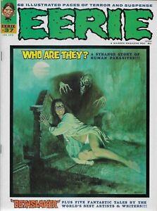 """WARREN (1972) EERIE #37 - January - """"Dethslaker""""  - 9.0 VF/NM"""