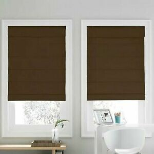Real Simple Cordless Roman Cellular 36-Inch x 72-Inch Shade in Chocolate