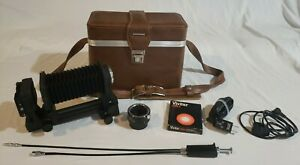 Nikon Bellows PB-6 w/Slide Copying Adapter PS-6 in Vintage Bag with Many Extras!