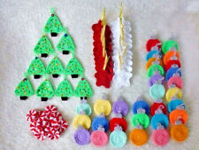 Crochet Christmas ornaments snowman peppermint gifts,stars,Christmas tree bauble