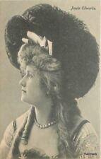 C-1905 Stage Actress Paula Edwards glamour Lady postcard 7396
