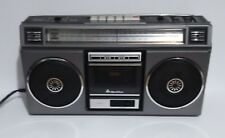 VINTAGE QUASAR GX-3611 BOOMBOX GHETTOBLASTER CASSETTE PLAYER TESTED and WORKING