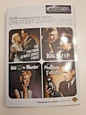 Tcm (The Maltese Falcon / The Big Sleep / Dial M for Murder / The Postman Always