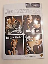 Tcm Classics (Maltese Falcon / Big Sleep / Dial M Murder/ Postman Always Rings T