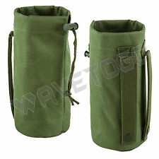 VISM NcSTAR Militray MOLLE Water Bottle Hydration Pouch Bag Carrier Hiking Green