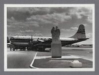 BOAC BOEING STRATOCRUISER G-AKGI LARGE VINTAGE ORIGINAL AIRLINE PHOTO B.O.A.C. 1