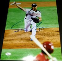 Yu Darvish Japan WBC SIGNED 11x14 Photo Chicago Cubs Rangers (JSA Authenticated)