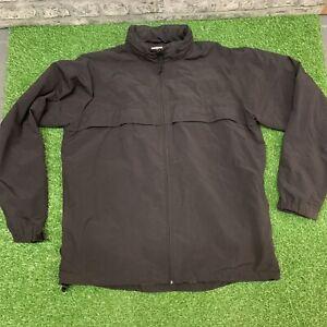 Carhartt Jacket Coat Black Hood Size Extra Large XL