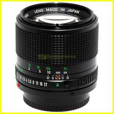 Canon FD 85 mm f1,8 Obiettivo per fotocamere, anche per digitali con adattatore