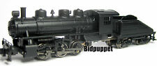 Undec USRA 0-6-0 Switcher Steam Loco & Slope Tender Bachmann 50598 N-Scale
