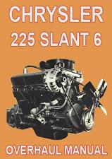 CHRYSLER 225 SLANT 6 ENGINE MANUAL
