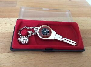 🇩🇪Rarität Mercedes Schlüssel Anhänger mass. Silber 925 Ponton Pagode 1960 1970