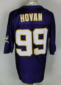 HOVAN #99 MINNESOTA VIKINGS AMERICAN FOOTBALL JERSEY MENS XL NFL