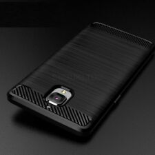 For OnePlus 3 & 3T Carbon Fibre Gel Case Cover Shockproof Ultra Slim