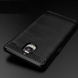 For OnePlus 3 & 3T Carbon Fibre Gel Case Cover Shockproof Ultra Slim