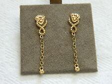Clogau 9ct Welsh Gold Kensington Diamond Drop Earrings RRP £390.00