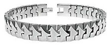 Men's Bracelet Gift Chain Tungsten Carbide Clasp Thick Scratch Resistant 10mm