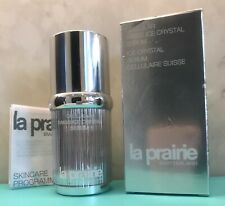 LA PRAIRIE Cellular Swiss Ice Crystal Serum EMPTY Full Size BOTTLE &Original BOX