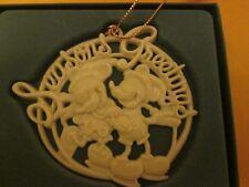 Lenox Mickey & Minnie Seasons Greetings Christmas Ornament