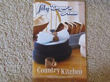 Lily Sugar 'n Cream book COUNTRY KITCHEN crochet patterns for the kitchen