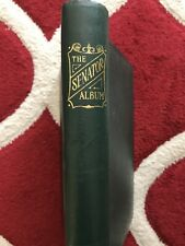 STAMPS - STANLEY GIBBONS SENATOR ALBUM EMPTY NO PAGES GOOD CONDITION