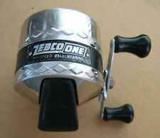 Vintage Zebco One High Speed Ball Bearing Spincast Reel.