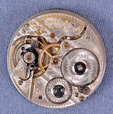 16s Hamilton 992/1 Pocket Watch Movement,  21 Jewel, #749072 - 1909, OF