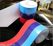 "79""/2M M-Colored Stripe Auto Car Body Modifield Vinyl Sticker Emblem for BMW New"