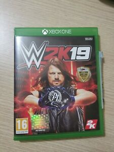 WWE 2K19 2019 Xbox One (Xbox One) Boxed with manual. VGC. Free P+P.