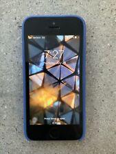 APPLE iPhone SE w/ case - 128GB - Space Gray (Unlocked) A1662 (CDMA GSM) - READ