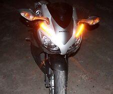 Motorcycle Turn Signal Blinker Flasher LED Bike Black Universal KTM XFR
