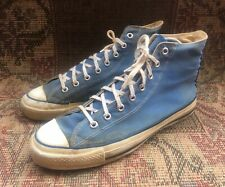 Vintage Chuck Taylor Converse  Light Blue Made In USA size 11