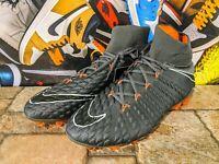 Nike JR Hypervenom Phantom 3 DF Fixed Gear Noir Argent Orange 882087-001 SZ-4.5Y 5Y