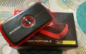 Boitier D'acquisition AverMedia Live Gamer Portable - enregistrement d'écran