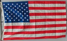 HIGH QUALITY STRONG THICK LARGE USA COTTON SEWN FLAG MADE IN GERMANY 155x90 cm